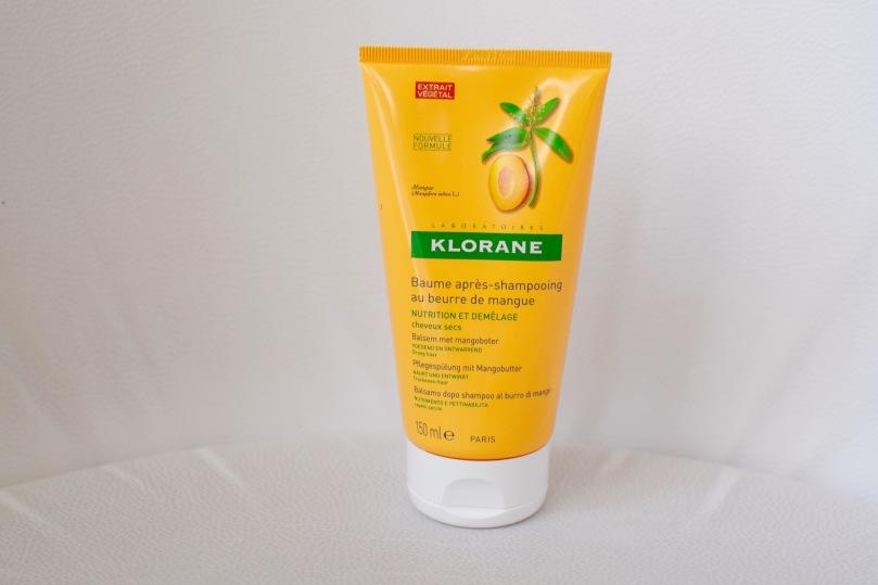 Après Shampooing Klorane à la mangue